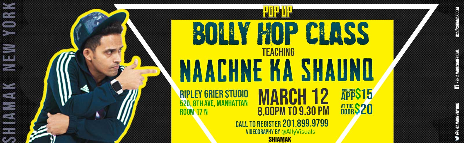SHIAMAK POP UP BOLLY HOP CLASS