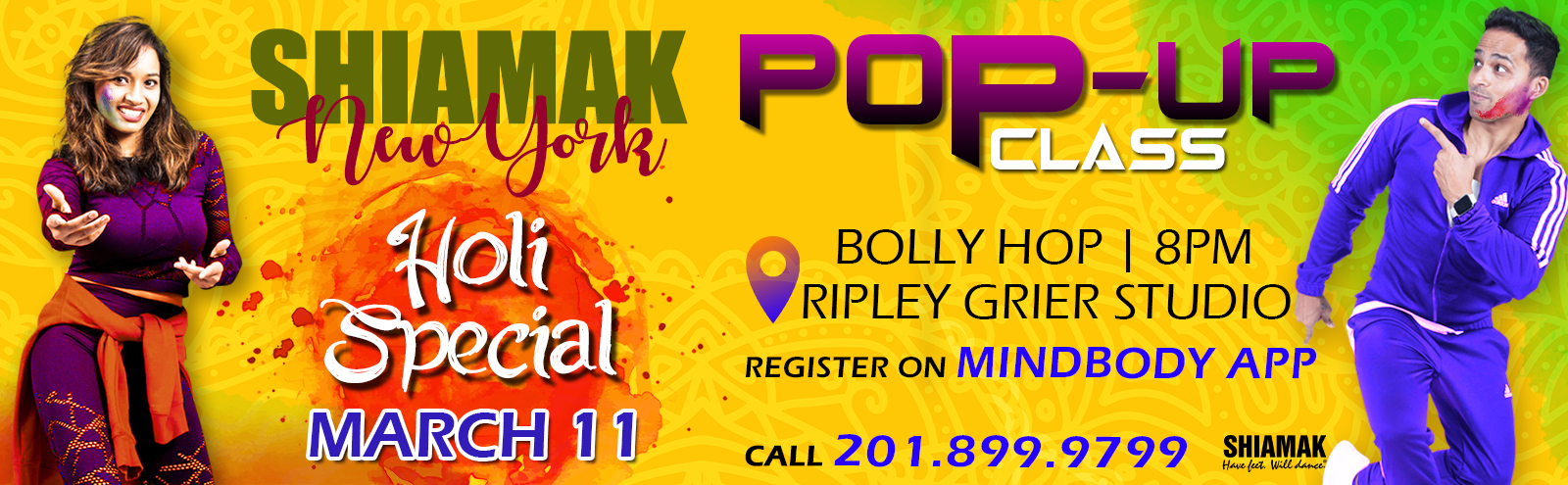 SHIAMAK POP UP 11TH MARCH