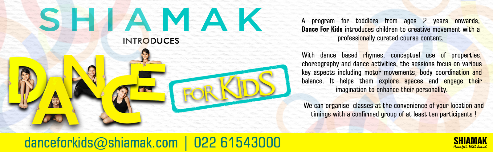 DANCE FOR KIDS
